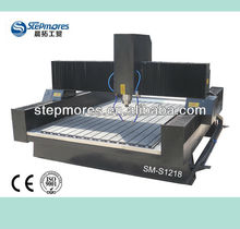 Hot!! 1200*1800mm DSP Stone cnc router, marble cutting cnc router machine