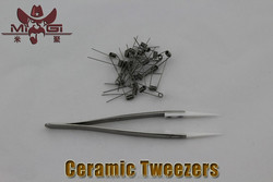 New arrival ceramic tweezer fashion tweezer smart and easy coil diy tool with best quailty