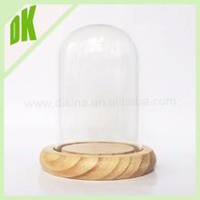 A * Terrarium Pendant,Terrarium Necklace with tiny miniature vintage doll , Large Dome ** decorative glass acrylic display dome