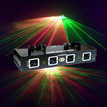 560mw red and green 4 heads animation laser light projector