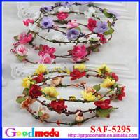 charming sakura flower hair tiara