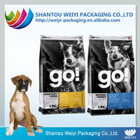 Customized design pet food pvc zipper bag
