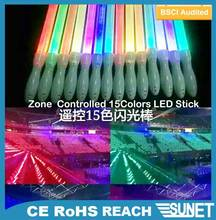 2016 New Products eco-friendly colorful multicolor led glow sticks new design