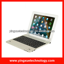 Bluetooth Wireless Keyboard Case Cover with Power Bank Battery For Apple iPad 4