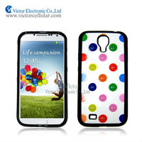 2014 New Cellular Phone Case for Samsung Galaxy S4 TPU sticker PC case