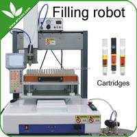 Wiscoo bud touch vaporizer pen cbd oil e cigarette oil filling robot machine