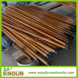 SINOLIN Eucalyptus wood factory price broom stick coating PVC cover