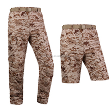 Desert Digital Men's Quick Drying Two-Sections Detachable Pants Breathable Travel Hiking Climbing Trousers