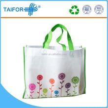 Reusable pp shopping bag with zipper