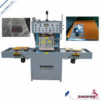 Slide plate car seat belt packing automatic high frequency welding machine
