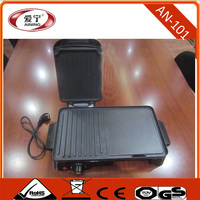 Table -top Multi Function Electric Grill and Griddle Of Hamburg , Panini, Chicken Wings, Meat ,Beef Grill Toaster