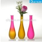 vidro colorido vasos de flor de vaso de decoração em casa ou no escritório