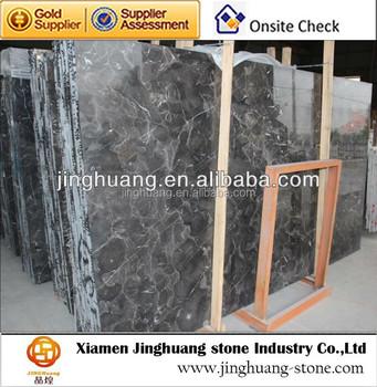 Polished Marble Slab Discount Black Marble Slab for Decoration