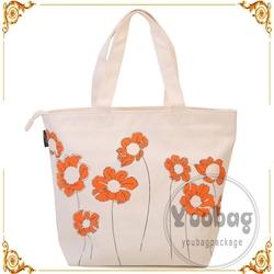 wholesale reusable eco shopping bag , recycle cotton shopping bag with logo