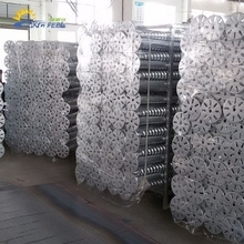 hot galvanized steel ground screw pile spike for solar mounting system