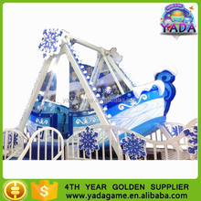 Attractive Indoor Amusement Park Ride Snow Private Ship Children Game