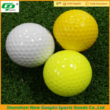 Hot selling 2 layer tournament golf balls for professional golfer
