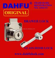 DAHFU ORIGINAL DRAWER LOCK DF-138 GLASS DOOR LOCK DF-328A HIGH QUALITY HARDWARE SAFETY