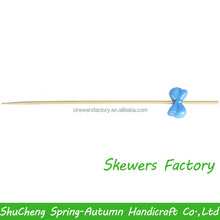 Disposable bamboo stick for food / Bamboo skewer for food / Bamboo pick for food