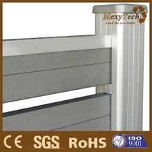Aluminum Structure, WPC Fence Profile, Alu-WPC Fence