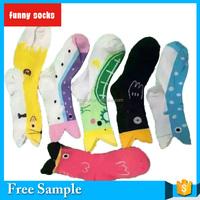 2015 100% COTTON Cute Design south korea wholesale fashion personality fish mouth shape women invisible boat socks