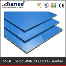 Alusign colourful and high quality acp manufacture pvdf coating decorative builing construction