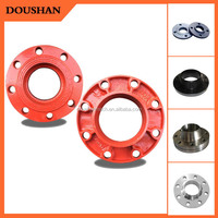 Nice pipe flange spacer graphite mold for glass iron casting