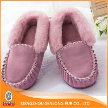 real sheepskin women shoes