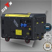 Bison China Zhejiang 10000w Generator Head 10KW Honda 3 Phase Generator Large Power Generator Diesel For Sale