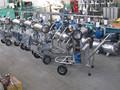 Automático individual doble vaca portátil máquina de ordeño