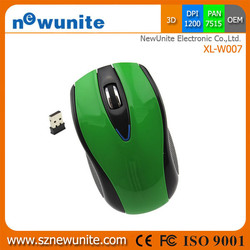 Beautiful LED cheap price wireless mouse for macbook air