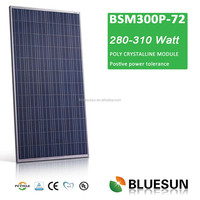Bluesun hot selling factory poly300W bulk solar panels