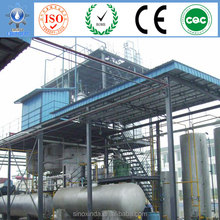 biodiesel processing with vegetable oil and waste cooking oil as materials to energy