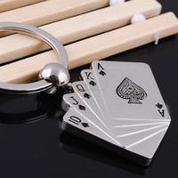 Newest Custom Metal Cool Keychains Personalized Key Chains Holder