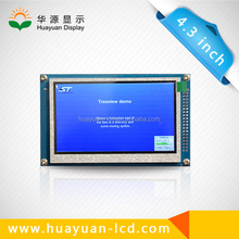 """customize """"2015 newest 4.3 inch tft lcd monitor for mirror gps"""