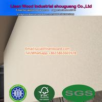 35mm plain Particle Board , 38mm 30mm 33mm door filler core solid chipboard for sale