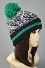 ladies hat/men winter hat/novel semicircular jacquard knit men hats