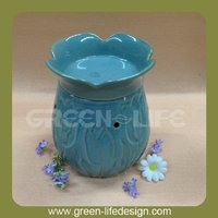 wholesale Ceramic fragrance lamp/electric scented oil burner/oil warmer for home decoration