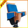 JY-906 Professional Factory ODM Upgrading Furniture Single Leg 5 Years Comfort Sofa Foam Opera House Concert Hall Music Chair