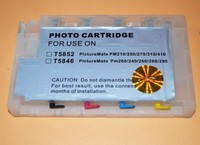 Refill ink cartridge for Epson T5852 for Epson PictureMate PM210/250/270