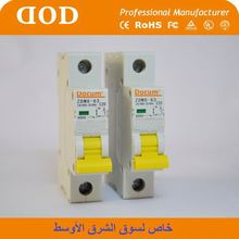 GL7 house used system mcb circuit Breaker ce certificate mw mcb