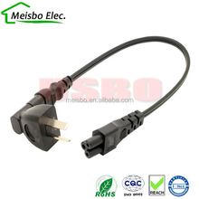 2 in 1 UK adapter cable for IEC C5 & C7