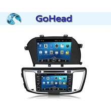 For Honda Accord 9 Android 4.4 Car DVD Player with Stereo USB 3g Wifi FM Games