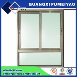 Aluminum frame commercial building and residential apartment glass windows