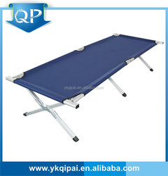 High qulity Folding beach aluminum bed blue color