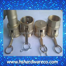 hot selling quick coupling set with round base FEMALE TYPE C+D+DC+B