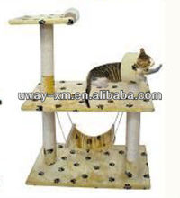 small size cat tree/small size cat house/small size cat rest room