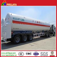 LPG LNG tank semi trailer, lpg storage tank in truck trailer