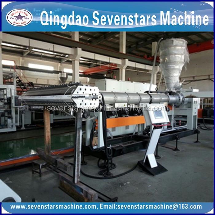 pvc manufacturing machine
