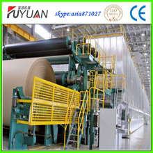 good performance waste paper fluting paper machine with competitive